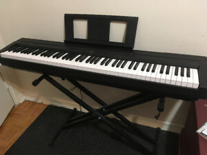 Yamaha P-45 88 keyboard for sale with stand