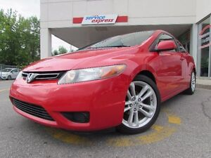 Honda Civic Cpe 2dr EX Manual 2006