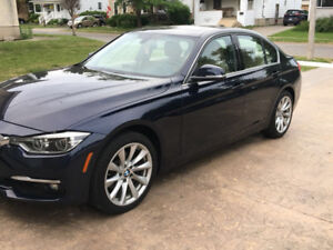 2016 BMW 328d  Sedan lease transfer, only 14000 km,
