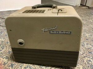 Vintage 16 mm  Bell & Howell movie projector