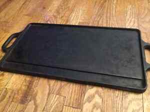 Cast Iron Flattop Grill Pan