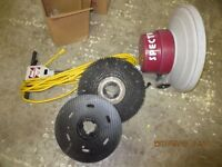 floor buffer, auto scrubber, MACHINE, FLOOR RE FINISH $900.00