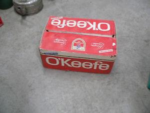 caisse de bière vintage okeefe # 5604.15