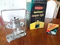 Vintage RAY-O-VAC Sportsman Campers' Light/ Lantern