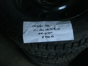 chrysler 300 snow tires