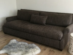 Large Contemporary Sofa - excellent condition!