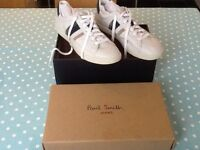 Paul Smith Trainers (never worn) leather
