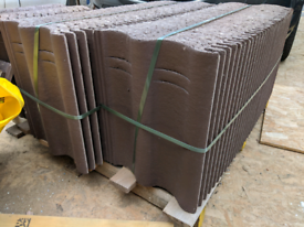 ***New*** Marley Roof Tiles - Mendip 12.5 Smooth Brown