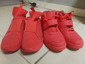 2 Pair Of Red Shoes(Oshawa)