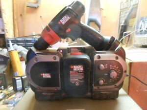 Black & Decker Drill and Radio