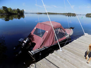 20' Lund c/w 150 hp Optimax