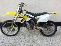 2008 Rm 125 swap for 250 2 stroke
