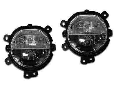 Fog Lights With DRL Set For 2014-2015 Mini Cooper & S F55 F56 HB Sedan Hardtop