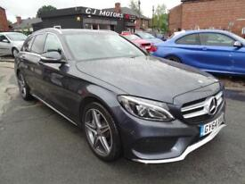 MERCEDES-BENZ C220 2.1CDI BLUETEC 7G-TRONIC PLUS AMG LOW TAX JUST £3O