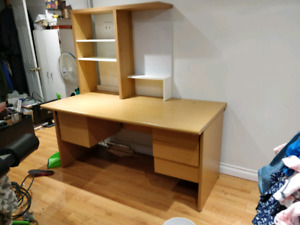 Study desk with hutch for sale