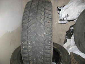 4winter tires for sale phone 432-6519 225/55r/17