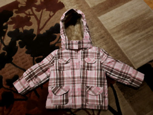 Like new winter jacket 3-4 year old kids girl baby