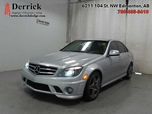 2009 Merc Benz C-Class 6.3L AMG Low Mileage Nav Sunroof $263 B/W