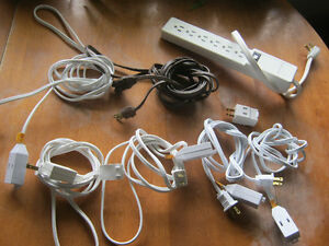 Extension cords and power bar - ALL for $5