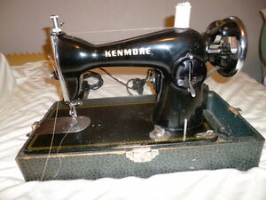 Kenmore C877.15 Antique Sewing Machine