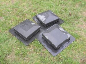 FOR SALE-3 ROOF VENTS