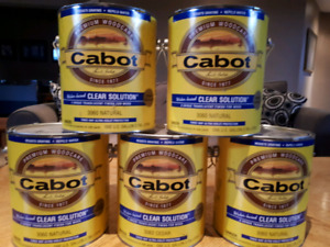 Cabot Exterior Stain