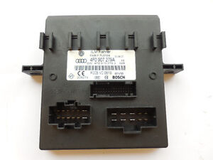 Audi A6, Q7, S6 2006-2011 Onboard Supply Control Unit 4F0907279A
