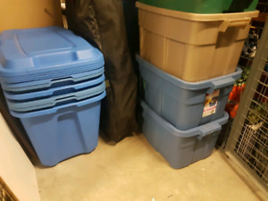 Storage and moving bins