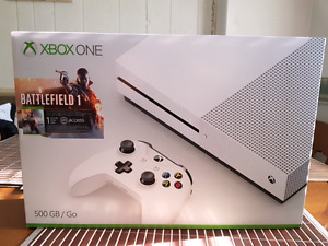 Xbox One S 500gb - Battlefield + 2 controllers