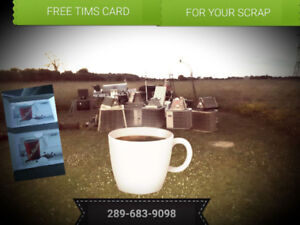 FREE☕TIMS GIFT CARDS for Your Scrap