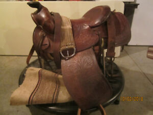 """Texas Saddle King"" Performance Saddle"