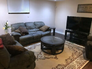 Recliner sofa and love-seat for sale