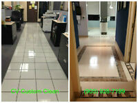 Commercial Cleaning Service & Floor Care (Strip, Wax & Buffing)