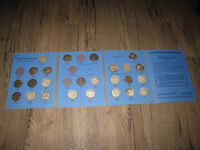Canada Silver 50 Cent Piece 25 Coins Collection 1937-1960