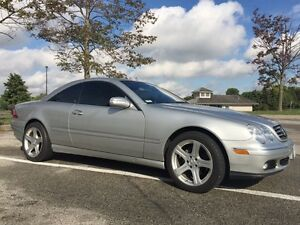 2003 Mercedes CL500, No Accidents, Very Clean