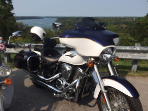 2013 Vulcan 900LT Classic with Batwing