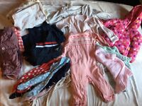 Baby Girl Clothes, 6-9m & 9-12m
