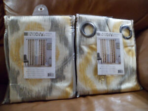 **BRAND NEW**  INK & IVY Curtains with Grommets