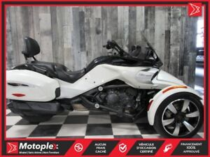 2016 Can-Am SPYDER F3T SM6 74,97$/SEMAINE
