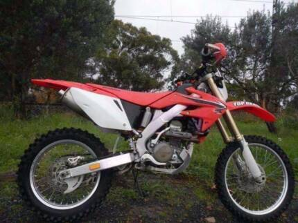 HONDA CRF 250 X 2008 SOUNDS AND RIDES PERFECT VALUE AT $4990 Ringwood Maroondah Area Preview