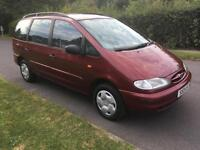 Ford Galaxy 1.9TDi GLX 7 SEATS + 1 OWNER FROM NEW + FULL SERVICE HISTORY