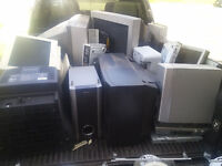 WANTED FREE PICK UP SCRAP METAL/ ELECTRONICS  TVS COMPUTERS