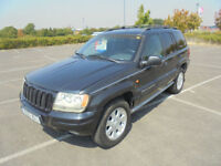 2003 JEEP GRAND CHEROKEE 4.7 V8 AUTO LIMITED 4X4 LEFT HAND DRIVE LHD AIR CON