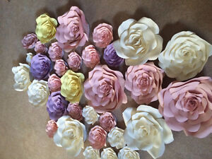 Giant Hand Made Paper Flowers Strathcona County Edmonton Area image 1