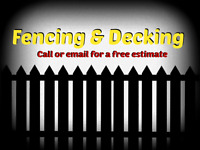Fencing and Decking Cornwall, Ottawa, & surrounding areas!