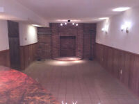 HUGE FURNISHED BASEMENT FOR RENT ONLY FOR FEMALE
