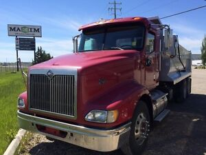 2007 International 9400i 6x4, Used Gravel Truck