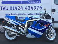 1992 Suzuki GSX-R1100 Classic Sports Bike / Just 3149 miles from new!
