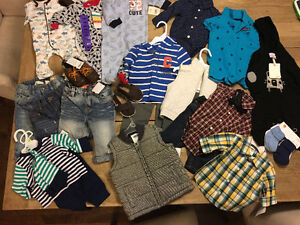 Baby Boy BRAND NEW Clothes and Shoes