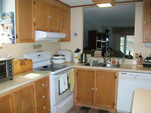 Beautiful 980 sf mobile home t/b MOVED